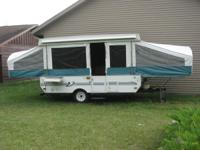 We have 2 pop-up campers available for rent! 1. 12'