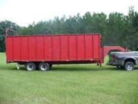 DUMP Trailer - gooseneck, made by SurePull, 45 yards,