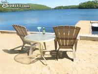 Oxoboxo Lake Cottage is a furnished direct lakefront