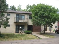 1 bedroom apartment in a quiet wooded area.  This