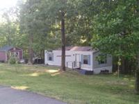 One bedroom mobile home for rent out in the country on