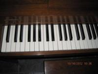 I just bought a brand new piano, so I am selling this