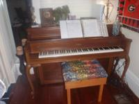 I hate to get rid of my piano but I'm moving soon and