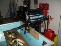 For Sale Mercury 4.5 Horse Power Outboard Boat Motor ""