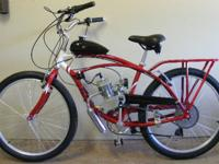 Brand new bikes with gas powered engines fully