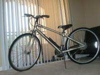 I'm selling my NEW Cannondale Hybrid Quick 5 Titanium
