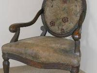 Old Hickory Tannery Chair $450/OBO Distressed leather
