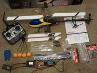 i have a 450 rc heli extra parts lots of fun flys grate