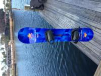 2002 Salt Lake City Olympic snowboard. 155cm. Needs