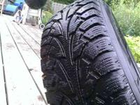 I have a set of 4 215/75-15 Hankook Winter I-Pike