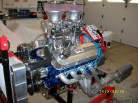 454 ci Big block chevy bored 60 now 468 ci all new