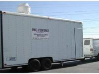 20' NFPA, NSF & UL APPROVED MOBILE MODULAR COMMERCIAL