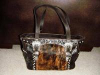 Nice leather and faux leather handbags, totes and