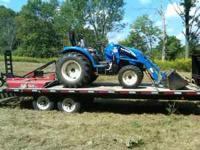 I am selling my 45hp new holland with 600hrs on it. It