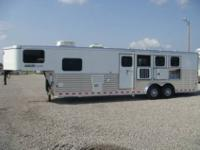 2011 Sundowner four Horse with mangers 10 amp 039 short