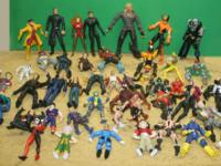 "46 Action Figures 1990's 2000's Marvel - X-Men Etc 7"" N"