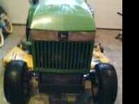 I'm selling this John Deere 265 for my Dad It has a 17