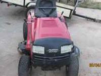 This mower has a 20hp twin cylinder Briggs and Stratton
