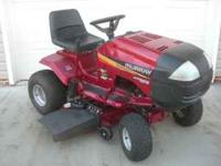 "46"" Murry riding mower, 16hp Briggs & Stratton Twin II,"
