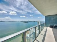 Dazzling Bay view from this Direct Bayfront 2 bedroom,