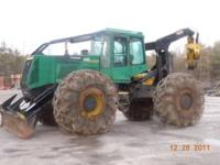 1998 460 timberjack skidder approx. 10000 hours. dual