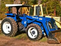 New Holland 4630 Ford Tractor with Loader in great