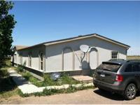 Cozy 3 bd, 2 ba, modular home on 35.01 acres. 40 X 180