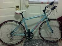 Up for sale is my wife's 46 cm Dawes road bike. I
