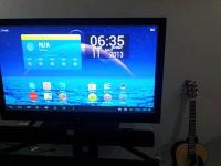 Firstly this TV comes with Google Android interface via