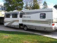 2002 Pace Arrow 37 A motorhome, 29,000 miles, Ford V-10