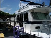 Please call owner Joe at . Houseboat is in