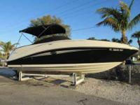 2008 Sea Ray 260 SUNDECK SUPER CLEAN PEARL/BLACK BEAUTY
