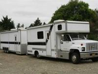 FOR SALE, 91CHEVROLET KODIAK RV CONVERSION WITH 33'