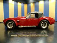 1966 AIR CONDITIONING Cobra replica with a powerful 428