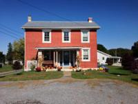 A charming brick colonial built in the late 1800's.