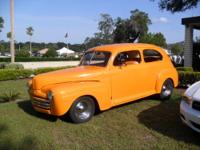 Beautiful 1947 Ford Tudor Streetrod in Ford Hugger