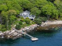 Oceanfront Retreat, located on historic Spruce Point in