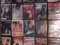 Up for sell we have a large variety of DVD movies al in