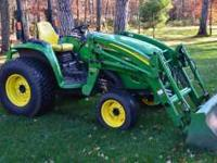 2007, 473 hrs. JD 400 CX loader, 4 whl drive, Mid &