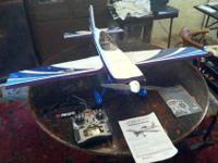 RC Airplane with Spektrum DX6i Radio & DSM2 6ch