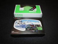 MOD Live HUD and UVEX BLACK G.GL 9 w/ Mirror Lens