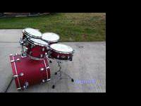 PDP by Drum Workshop F-Series Birch five pc 16X22 Bass