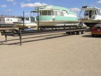 47ft boat trailer..Custom made for comercial