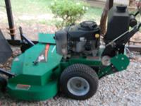 "48"" Bobcat walk behind lawnmower. 17 hp, FH 500V."