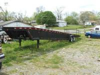 1994 3 CAR HAULER TRAILER Made By: COUNTRY SIDE