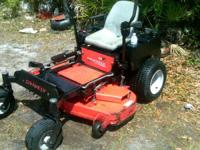 Selling my Gravely 48 inch cut mower.It has 900 hours