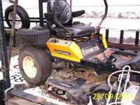 2007 48 inch cub cadit enforcer has aprox 900 hours, 21