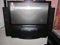 EUC,..It's very huge..It's a rear projection with