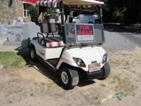 48 volt Yamaha Golf Cart Has side curtains Flip down