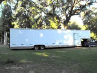 Very good condition. Enclosed trailer can be pulled by